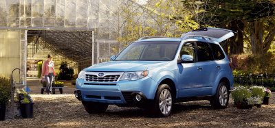 Subaru Forester (取材自網路)