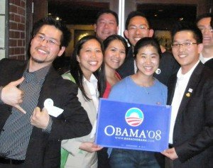 Seventy-seven percent of Asian Americans voted for President Obama, according to exit polls.