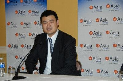 Former NBA player Yao Ming now is a vinter in Napa Valley, California and is involved in international charity.