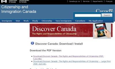 移民部新版「發現加拿大」有聲電子書邀請伍冰枝等名人獻聲。(取材自聯邦移民部)