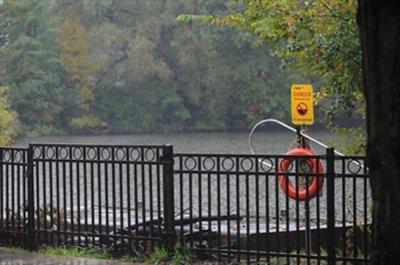 多市內池塘大多堵塞。圖為高地公園內的一個池塘。(取材自Insidetoronto網站)