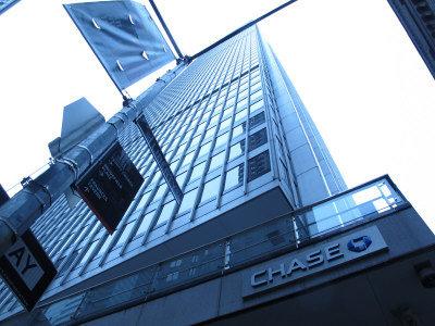 上海復星集團購買的大通曼哈坦一號大廈位於華爾街附近,是美國著名的金融大廈之一。(韓傑/攝影)