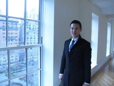 許峻樺認為,沒有報導的紐約大樓的中國買家比報導的買家要多。(韓傑/攝影)