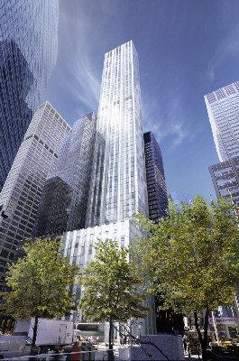 萊辛頓大道61號大樓正在興建中。圖為該大樓的建築示意圖(取材自網路)