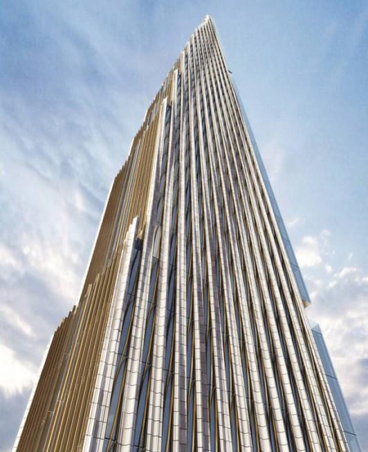 西57街111号将成为未来纽约新的地标级公寓。(取自网络)。</p><br /><br /><br /> <p>