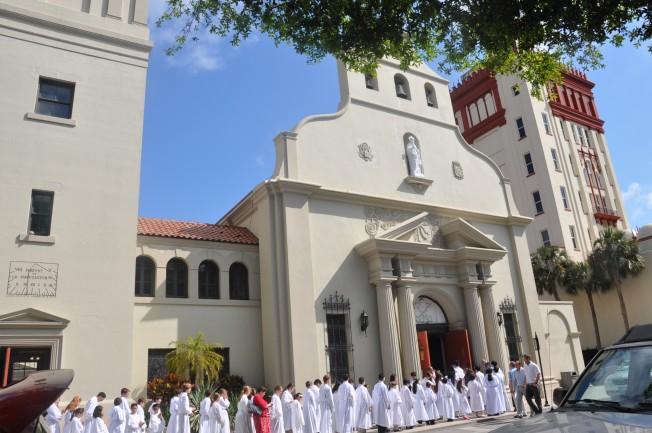聖奧古斯汀大教堂被指定為美國國家歷史地標,是佛羅里達州最古老的教堂。