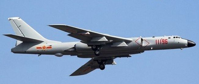 轟6K「戰神」戰略轟炸機。(取材自環球網)
