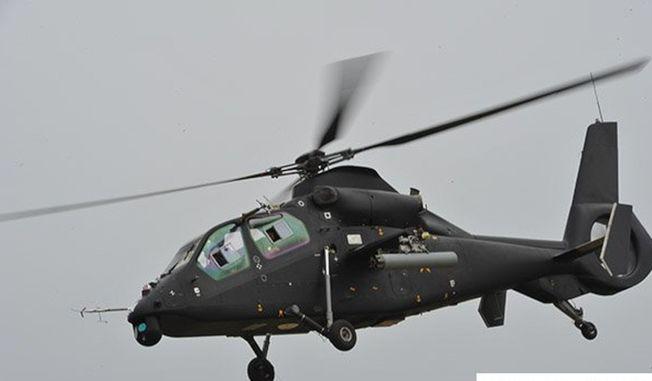 武直19偵察武裝直升機。(取材自環球網)
