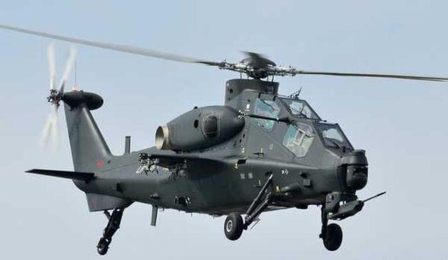 武直10「霹靂火」攻擊直升機。(取材自西陸網)