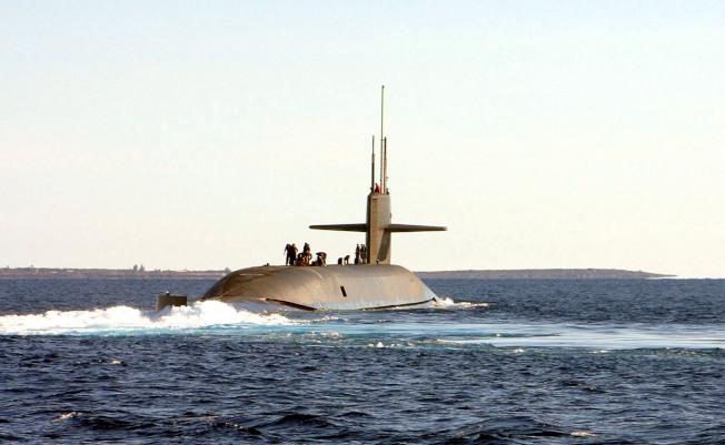 對付中共 美研發隱形潛艇