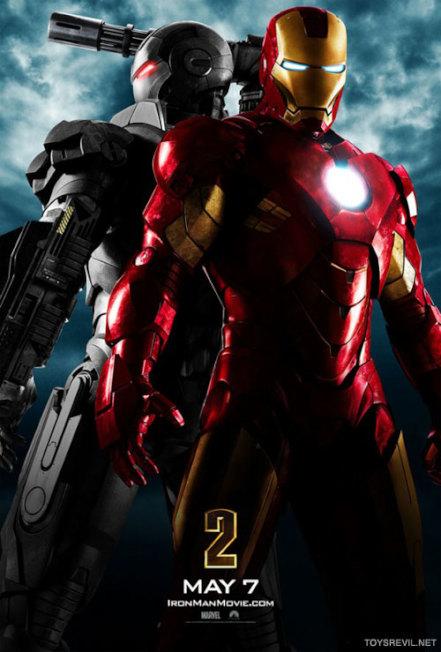 「鋼鐵人2」的電影海報。(取材自臉書)