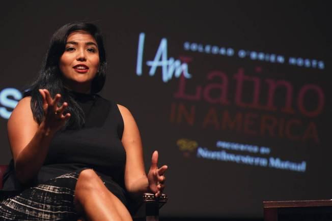 墨西哥籍無證移民茱莉莎.艾瑟 從大學開始在高盛公司實習,現在年薪高達34萬元。(Getty Images)