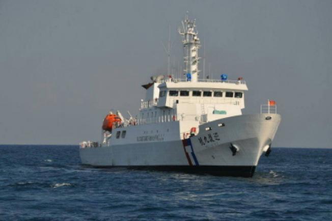 台湾2巡護船 5‧1赴沖之鳥抗日