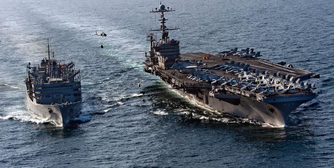 美國國防部證實,中國大陸已拒絕美海軍史坦尼斯號航空母艦率領的戰鬥群前往香港敦睦訪問。(海軍官網)