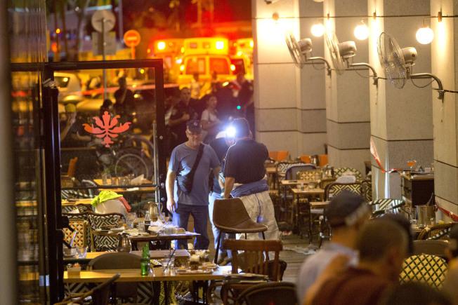 以色列驚爆恐襲 2槍手濫射4死6傷