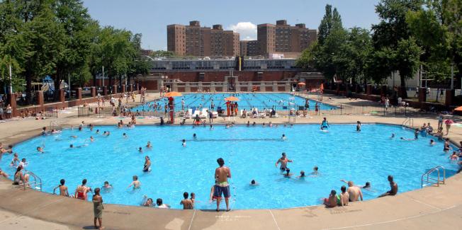 汉弥顿游泳池。(市公园局提供)