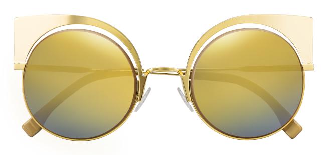 FENDI EyeShine太陽眼鏡。(圖:FENDI提供)