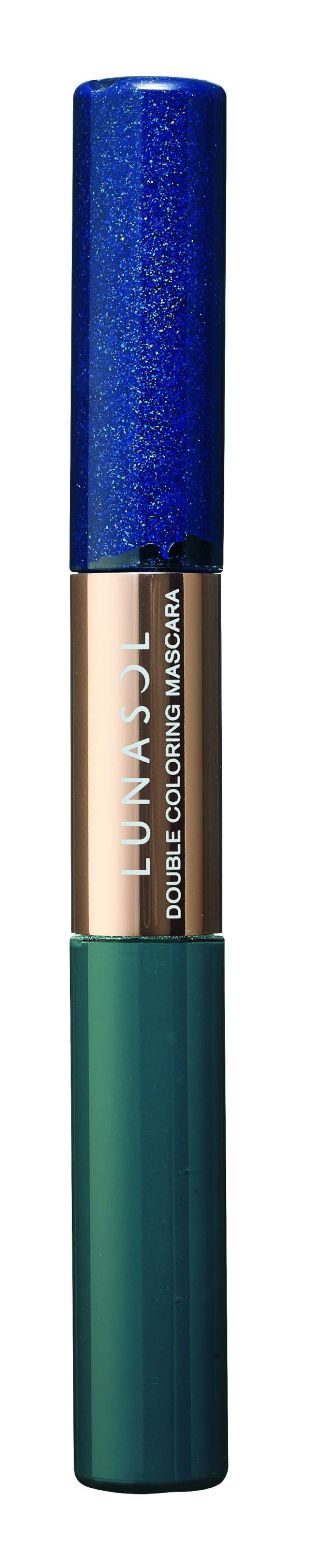 Kanebo LUNASOL「燦麗淨化─夏限定」雙采拚色睫毛膏。(圖:Kanebo提供)