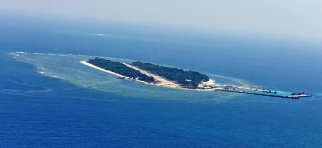 南海仲裁即將出爐,台灣堅持主權不變,但蔡政府對太平島的態度如何備受關注。(軍聞社)