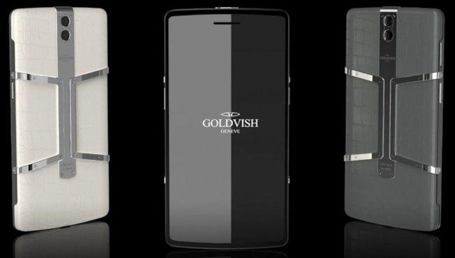 外觀裝飾著360顆鑽石的Goldvish Eclipse。(網路照片)