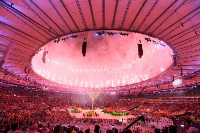 奧運閉幕。歐新社
