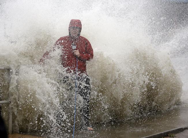 颶風登陸!美東長周末「泡湯」