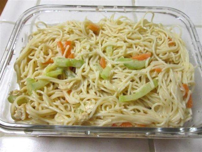 (5)中東風味芝麻醬(Tahini)拌麵