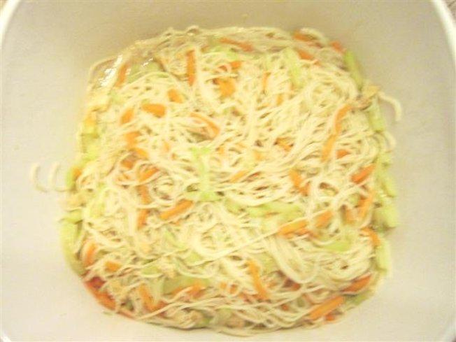 (4)中東風味芝麻醬(Tahini)拌麵