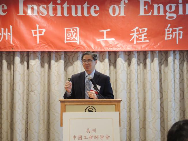 華裔科學家Paul Tang推動大數據,加強紀錄健保數據。(記者俞姝含/攝影)