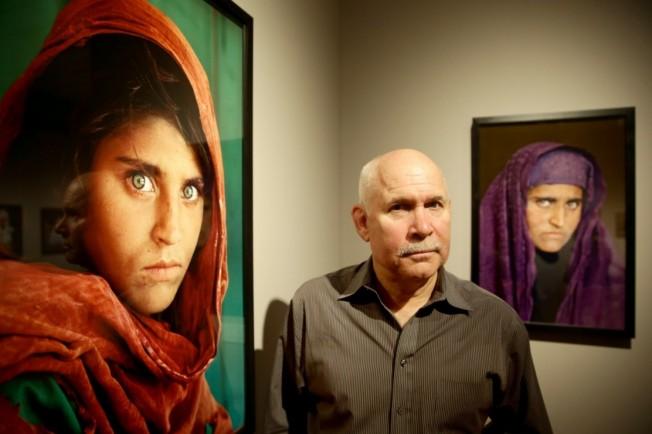 國家地理阿富汗女孩 持假證被捕