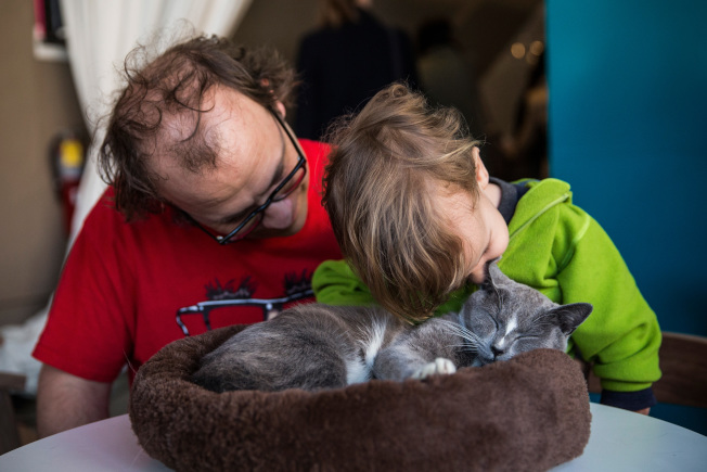 愛貓的人也不要輕視萌寵看似可愛的抓撓,可能有感染病菌的風險。(Getty Images)