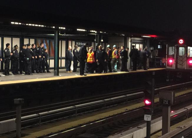 亞裔女青年 地鐵站跳軌亡