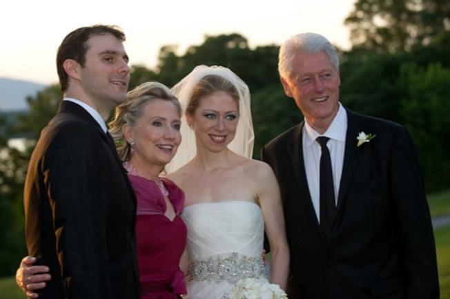 雀兒喜婚禮開銷 柯林頓基金會支付