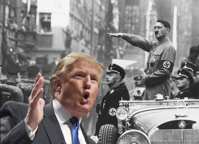 將川普比做希特勒 老師被停課