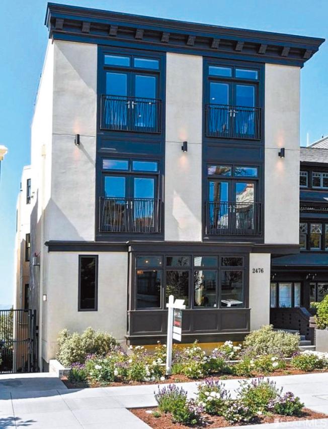 這棟舊金山太平洋崗豪宅,要價2200萬元,但賣了半年依然賣不出去,現在終於減價以1810萬元成交。(圖:房地產公司提供)