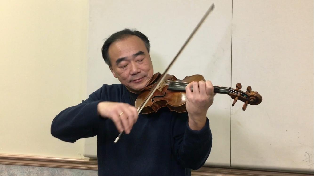 享譽國際的小提琴家林昭亮將於12日在橙縣演出。(記者莊婷/攝影)
