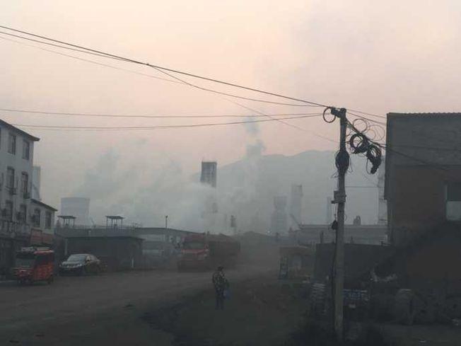 霧霾日常。(取材自網易號自媒體《知道》)