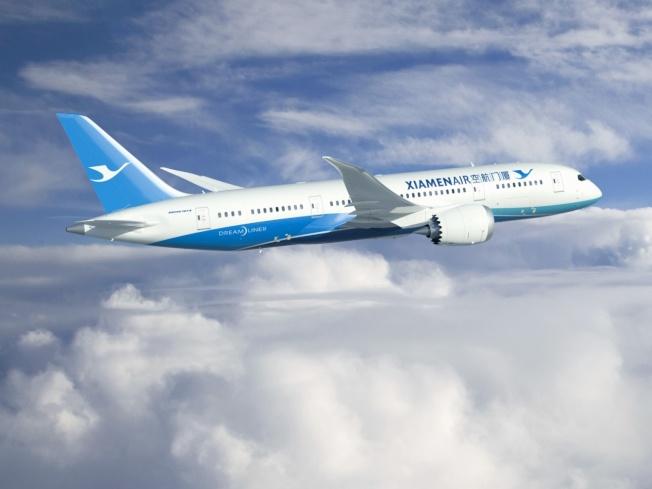 中國取代美國 稱霸太平洋直飛航線