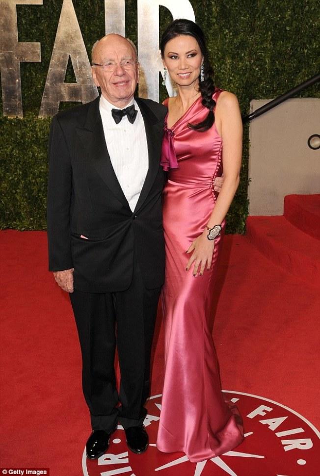 鄧文迪和梅鐸離婚後各有新歡。(Getty Images)