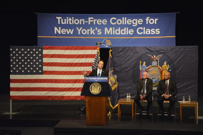 纽约州大学免学费 华人欢呼