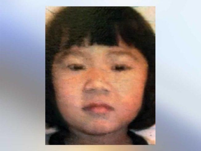兩周前才剛滿五歲的趙艾許莉,9日晚上從自家餐館失蹤,10日下午被發現陳尸餐館內。(警方提供)