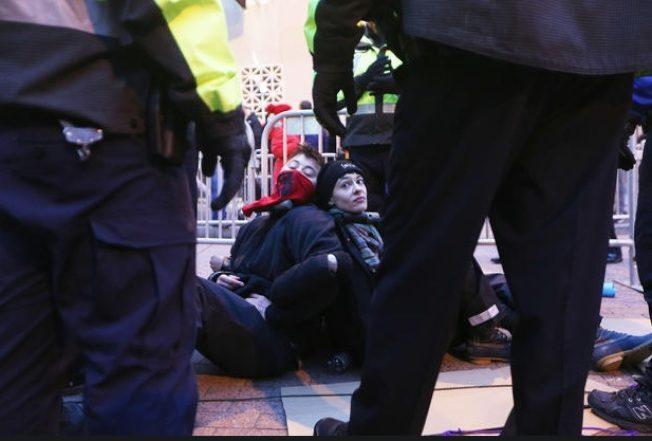 就職日示威涉暴亂罪 最高可判10年