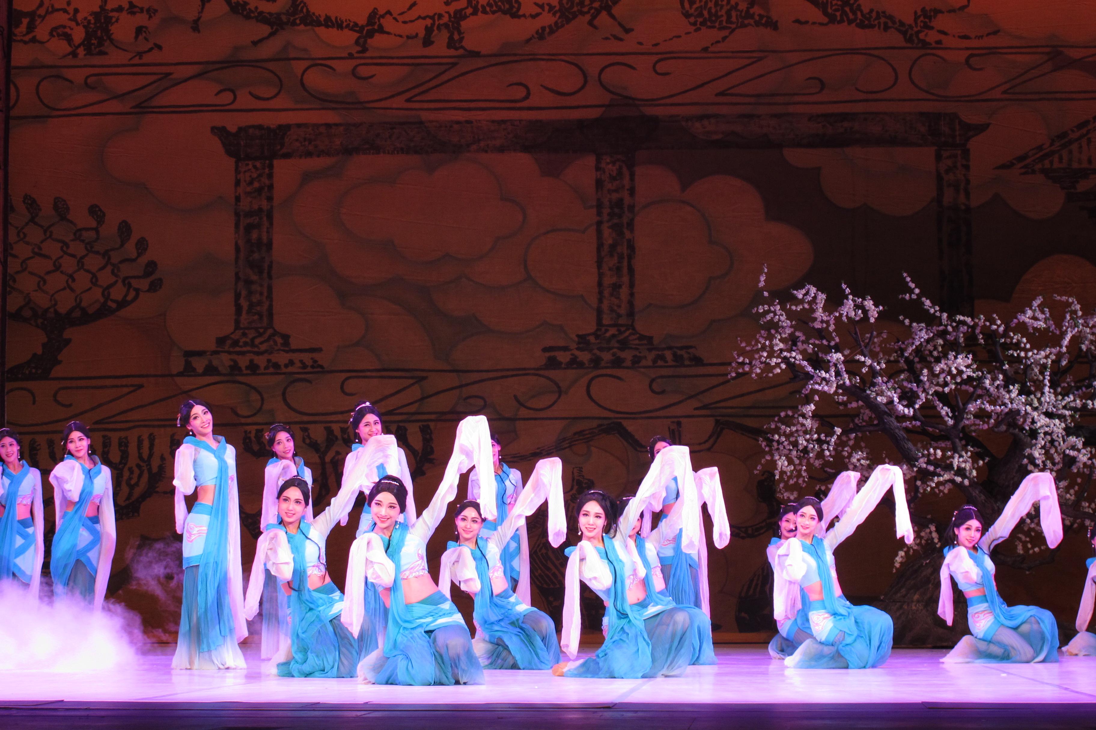 女子舞蹈「采薇」