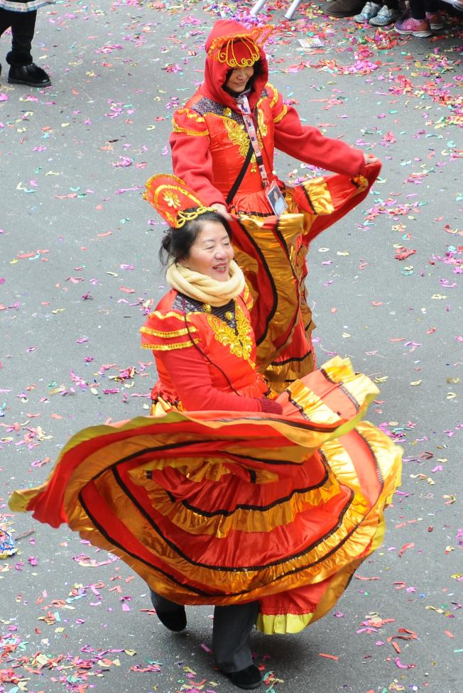 舞動新春。(記者許振輝/攝影)