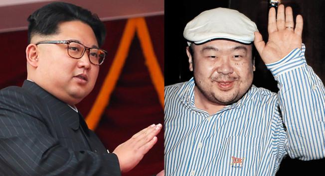 北韓領導人金正恩(左圖)同父異母的哥哥金正男遭毒殺,舉世震驚。路透、法新資料照片