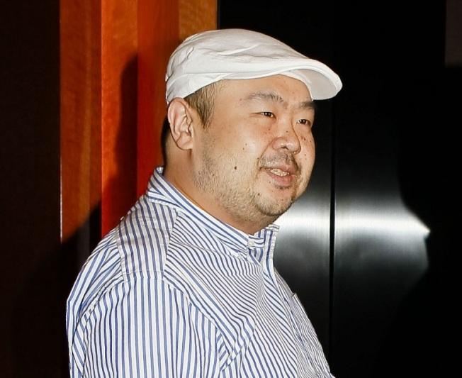北韓領導人金正恩的同父異母哥哥金正男遇刺身亡。圖/歐新社