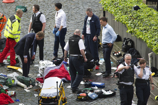 英國會攻擊事件4死 可能是穆斯林