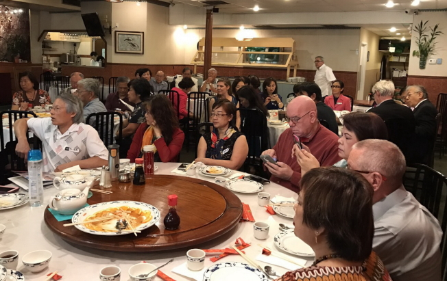 大奧蘭多台灣商會舉辦理財講座,會員專注聽講。(圖:大奧蘭多台商會提供)