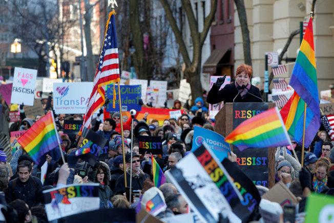 川普新政擬擴大,恐危及LGBTQ族群的權益。(路透)