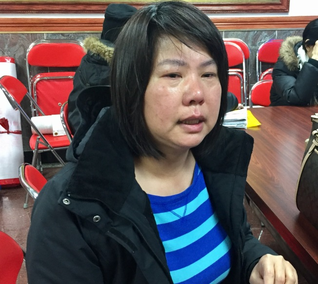林女士借钱不写借条,1万6000元血本无归,哭诉无门。(记者俞姝含/摄影)